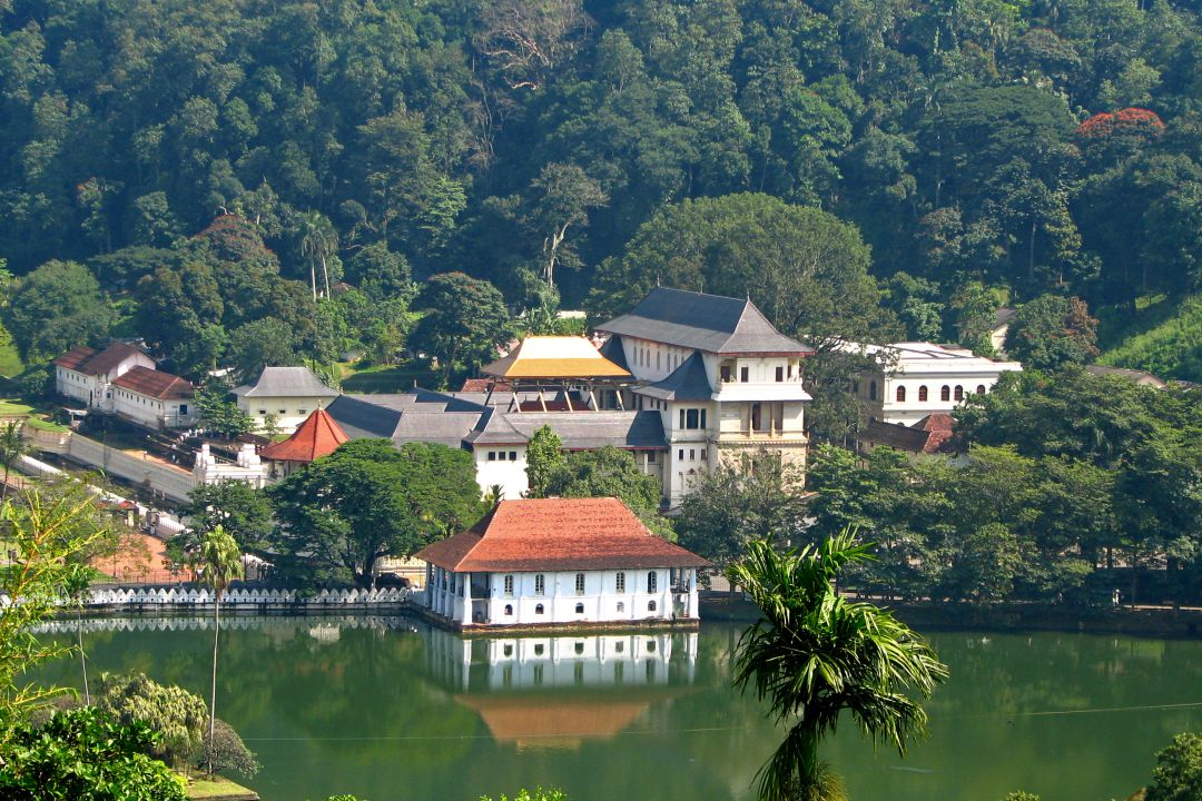 kandy upper lake view