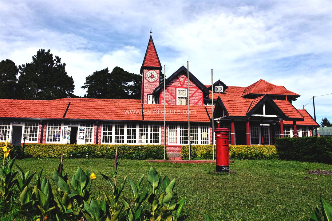 Nuwara-Eliya-pink-post-office
