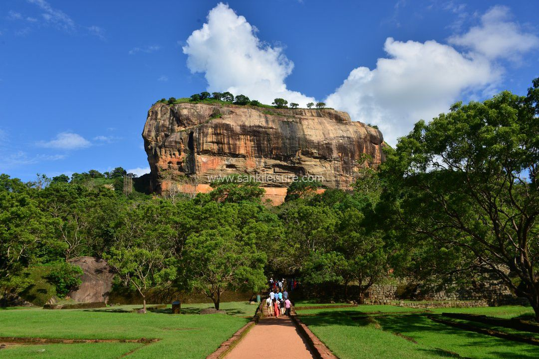 Sigiriya ancient rock fortress