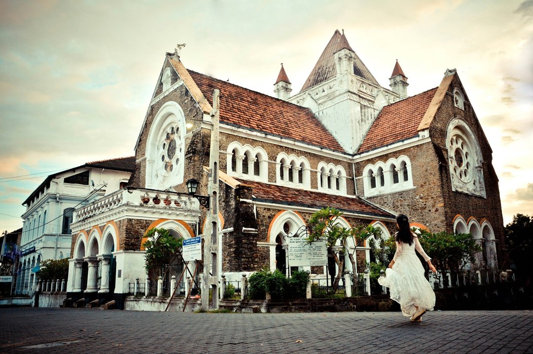 galle fort church dutch