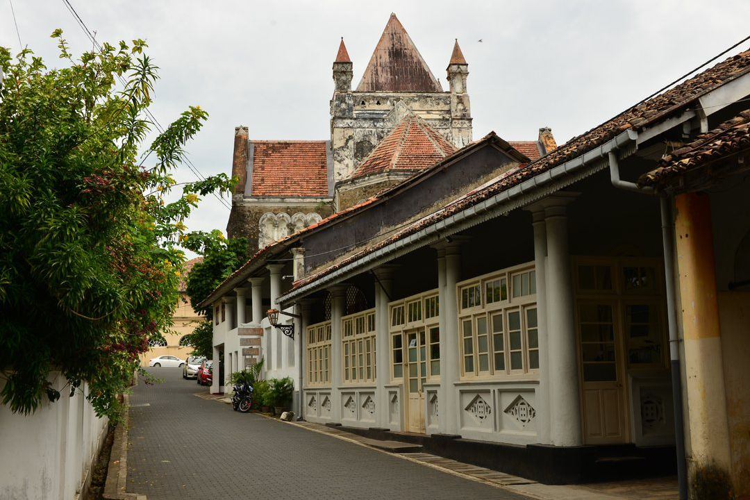 galle fort dutch buildings