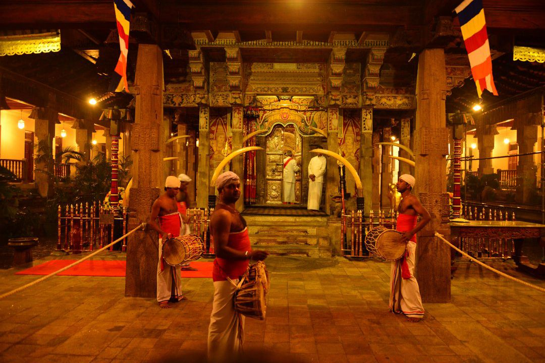 Kandy Temple of the Sacred Tooth Relic