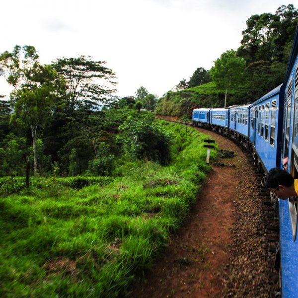 train ride to Nuwara Eliya