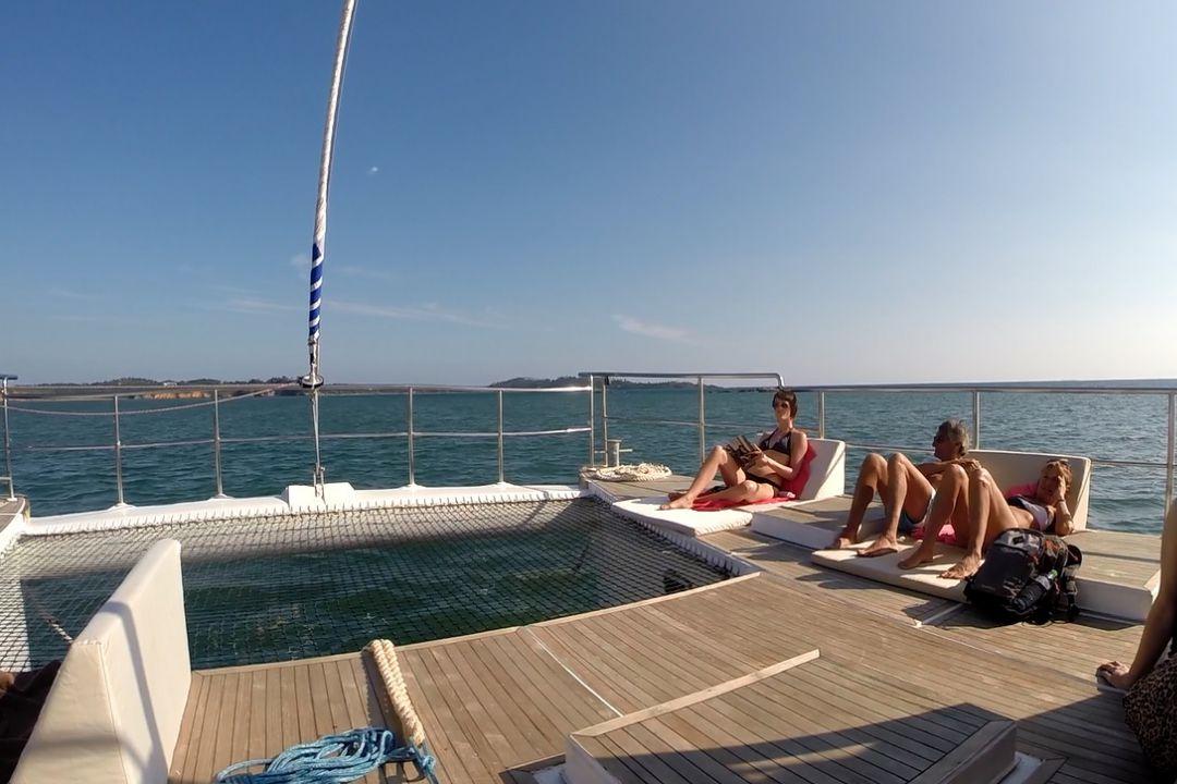 sun deck in trincomale yacht