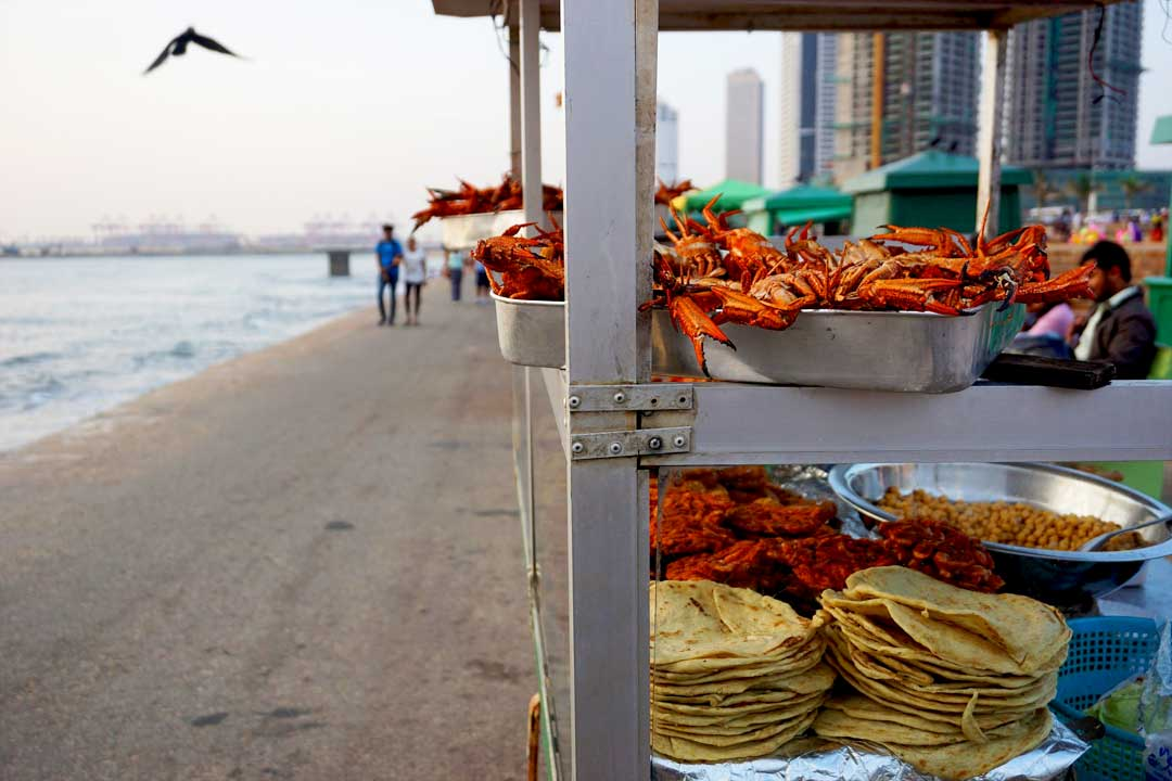 Galle face food
