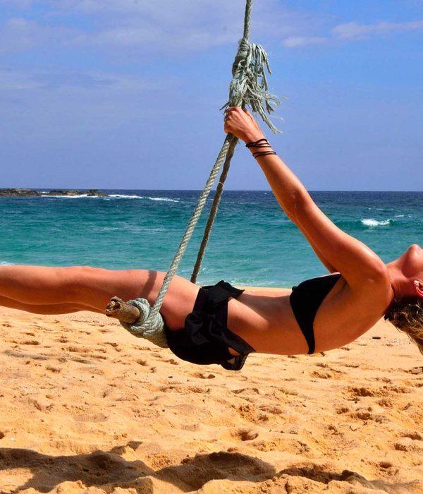 leisure in sri lanka beach