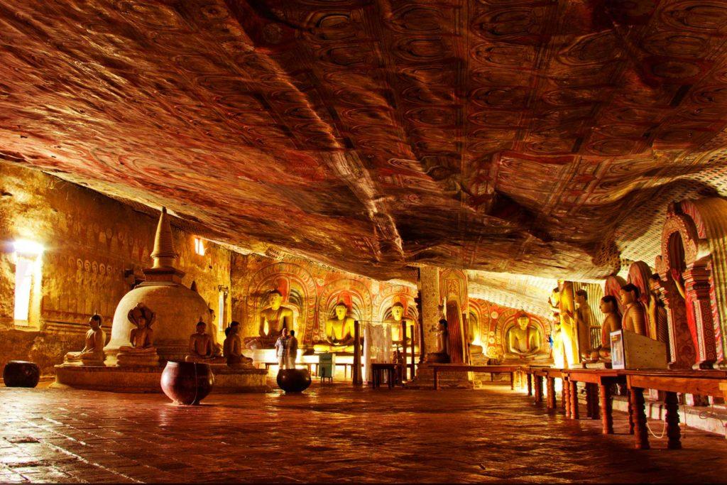 Dambulla Rock Cave Temple
