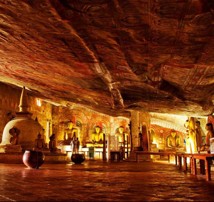 Dambulla Rock Cave Temple